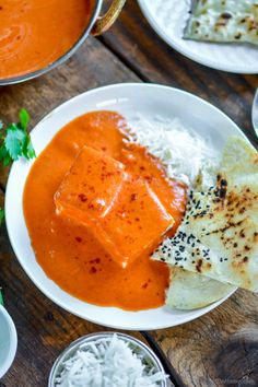 This Velvety Restaurant Style Indian Tikka Masala Sauce needs just 6 staple pantry ingredients. You will be surprised to learn that secret of your all-time favorite Indian Chicken Tikka Masala sauc. Paneer Recipes, Sauce Recipes, Seafood Recipes, Indian Food Recipes, Cooking Recipes, Ethnic Recipes, Easy Chicken Tikka Masala, Tikka Masala Sauce, Paneer Tikka