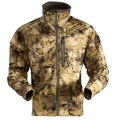 New Sitka Waterfowl Apparel Features Revolutionary Camo Pattern Hunting Rain Gear, Hunting Girls, Hunting Jackets, Hunting Equipment, Hunting Clothes, Bow Hunting, Hunting Stuff, Sitka Gear, Camouflage
