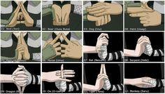 Naruto Hand Seals - Cool!