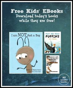 Free eBooks for kids: Today's list has a cute picture book full of facts about ants, a mystery detective novel, and more!