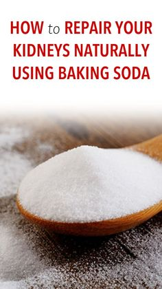 Kidney Health How to Repair Your Kidneys Naturally Using Baking Soda (and why you should) Baking Soda And Honey, Baking Soda For Hair, Baking Soda Water, Baking Soda Vinegar, Baking Soda Uses, Baking Soda Health, Baking Soda Dry Shampoo, Baking Soda For Dandruff, Apple Cider Vinegar Shampoo