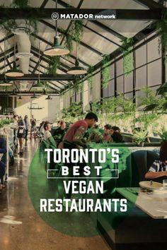 The 7 best and most innovative vegan restaurants in Toronto Fresh Restaurant Toronto, Vegan Restaurants Toronto, Broccoli Pesto, Pizza Joint, Vegan Pie, Stuffed Banana Peppers, Vegan Burgers, Canada