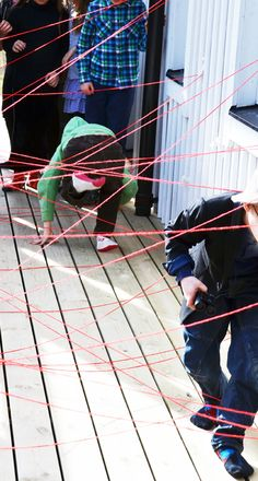willowday: Secret Agent Spy Party Labyrinth