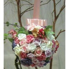 Pomander (bola de flores) para Casamento - Colorful Mais itens essenciais...