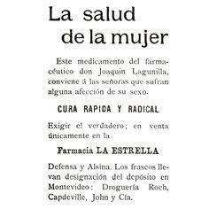 Afección de su sexo #1900 #argentina #buenosaires #ads #vintage