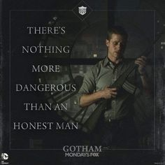 Gotham - - how true - (DC Batman): Don Sal Moroni in reference to Det. Gotham Batman, Batman Comics, Gotham Villains, Dc Movies, Movies And Tv Shows, Films, Batman Origins, Gotham Quotes, Gotham Tv Series