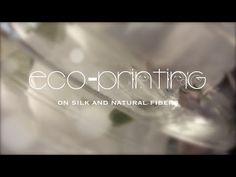 Eco-Printing on Silk and Natural Fibers - YouTube