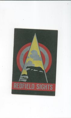 Redfield Gun Sights Catalog  Number 34 With Sight Chart Vintage Not PDF Available In Store @