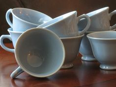 Lu Ray Pastels Set of Eight Coffee Cups by ClassicTableware, $20.00