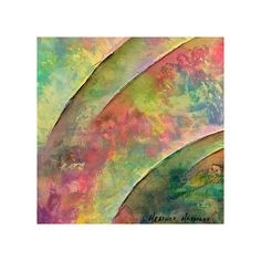 Etsy :: heatherhaymart :: Colorful Strokes FREE SHIPPING - Original... (€110) ❤ liked on Polyvore featuring backgrounds, textures, abstract, fondos and color