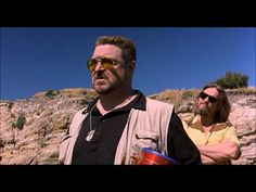 The Big Lebowski - Scattering Donny's ashes - This is hysterical. I can just imagine one of our high school friends scattering ashes over the cliffs into the Pacific Ocean. Looks a lot like it.