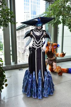 ice witch lissandra league of legends cosplay