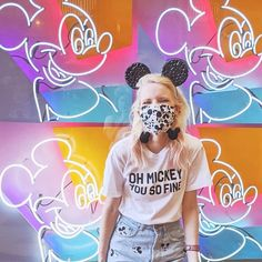 Now everything's technicolored 🌈 . . . Where is your favorite non park photo spot!? Park Photos, Disney Style, Main Street, Neon Signs, Design, Disney Inspired Outfits