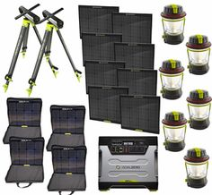 Goal Zero Yeti 1250 Maximum Solar Intake Generator Kit