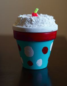 Mini Flower Pot Crafts | Craft Me This: Lil' Crafters: Cupcake Flower Pot