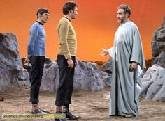 images of star trek the series | Star Trek: The Original Series, Plasus Robe ( Jeff Corey )