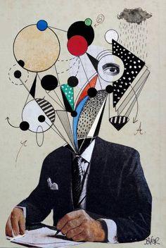 "Saatchi Art Artist LOUI JOVER; Drawing, ""mr paradox"" #art"