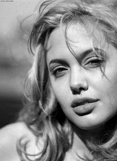 Angelina Jolie by Max Vadukul, 1997