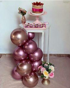 18th Birthday Party, Girl Birthday, Happy Birthday, Butterfly Birthday Cakes, Balloon Installation, Birthday Balloon Decorations, Ideas Para Fiestas, Party Planning, Balloons