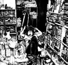 oyasumi punpun Anime Sketch, Manga Comics, Art Pictures, Graphic Illustration, Manga Anime, Manga Art, Anime Art, Otaku, Oyasumi Punpun