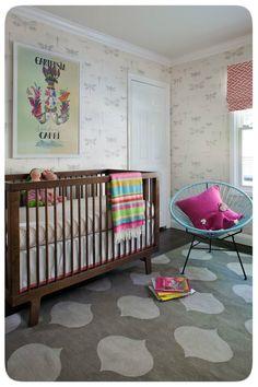 quarto de bebe moderno minimalista inusitado diferente linhas retas  berço  (2)