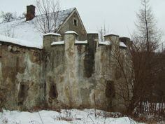 Stara Kraśnica - pozostałości zamku