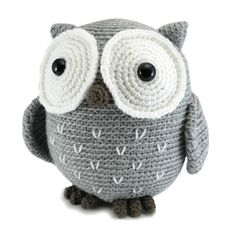 Crochet a big tubby Owl that is oh so huggable! Koko is a cuddly owl measuring about 9 inches tall (and very round!) when made with worsted weight yarn.My pattern includes detailed instructions and step-by-step photos, plus you can contact me along the way to ask any questions.It is an easy level pattern that involves starting with a magic ring, single crochet, double crochet, half double crochet, increasing, decreasing, attaching pieces, and working through both loops, back loop only, and…