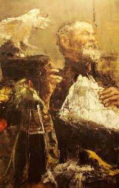Antonio Mancini Classic Paintings, Great Paintings, Italian Painters, Italian Artist, Portraits, Portrait Art, Giovanni Boldini, John Singer Sargent, New York Art
