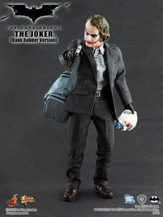 Hot toys - joker bank robber - the dark knight - #original #version - #mms79 - ne,  View more on the LINK: http://www.zeppy.io/product/gb/2/172392447467/