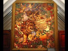 Tiffany panel at Tavern on the Green auction - Becky Fletcher (Savoy)