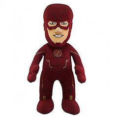 "DC TV The Flash 10"" Plush Doll Flash - http://hobbies-toys.goshoppins.com/tv-movie-character-toys/dc-tv-the-flash-10-plush-doll-flash/"