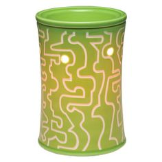 Get through your own personal labyrinth! A-maze-ing cuts a flowing path through a bright-green background.