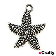 Wholesale Supplies, Diy Jewelry Making, Charm Bracelets, Cords, Silver Metal, Starfish, Pewter, Chains, Ear