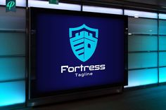 Fortress - Crest Logo Template by PenPal on @creativemarket