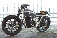 #Yamaha #sr500 #bratstyle