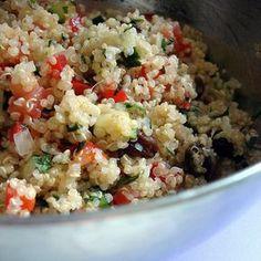 Recette diététique : Taboulé printanier au quinoa Nutrition, Buddha Bowl, Fried Rice, Potato Salad, Fries, Potatoes, Healthy, Ethnic Recipes, Food