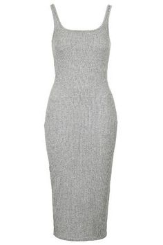 TALL Ribbed Midi Bodycon Dress