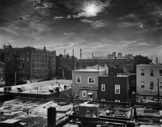 Sunset Astoria Rooftops Queens NY by TaoSorrento on Etsy
