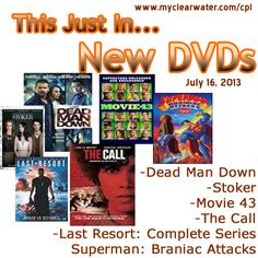 New DVDs July 14, 2013