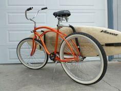 SUP rack for the bike