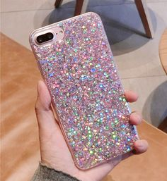 Iphone Cases Discover GBP - Glitter Bling Soft Tpu Silicone Slim Shockproof Case Cover For Iphone 7 Plus Girly Phone Cases, Iphone Phone Cases, Iphone 7 Plus Cases, Phone Covers, Iphone Se, Iphone 7 Plus Funda, Modelos Iphone, Accessoires Iphone, Coque Iphone