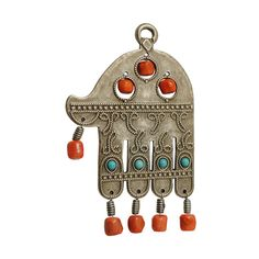 Hamsa with Colored Beads from the Israel Museum