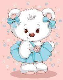Cartoon Girl Images, Cartoon Girl Drawing, Cartoon Pics, Cute Cartoon, Teddy Bear Cartoon, Cute Teddy Bears, Baby Clip Art, Baby Art, Animal Coloring Pages