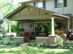 completed patio roof addition completed patio addition - Patio Addition Ideas
