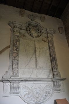 https://flic.kr/p/awDZvd | Kelmscott St George Monument on north wall of chancel -146 | Kelmscott is best known from it's association with William Morris who bought Kelmscott Manor and lived there with with his wife Jane and Dante Gabriel Rossetti. It is an idyllic Cotswold village lost in a maze of country lanes on the upper reaches of the River Thames. http://www.bwthornton.co.uk/visiting-stratford-upon-avon.php