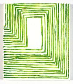 TODD CHILTON: Green and White, 2005