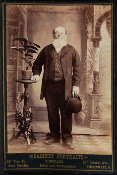 "Man with thick white ""Dutch"" beard"