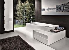 Falper - bad met zitelement en opbergruimte