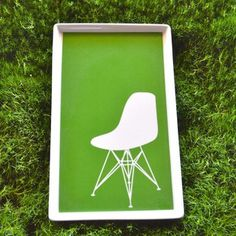 Eames Plastic Chair Tray Large now featured on Fab.