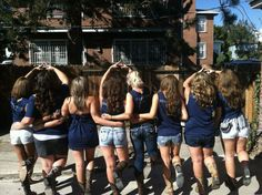 We love boots, football, and each other. Delta Love <3